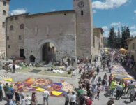 Infiorate di Spello 2017